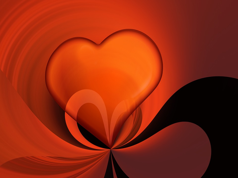 Heart, Love, Greeting Card, Valentine's Day, Abstract