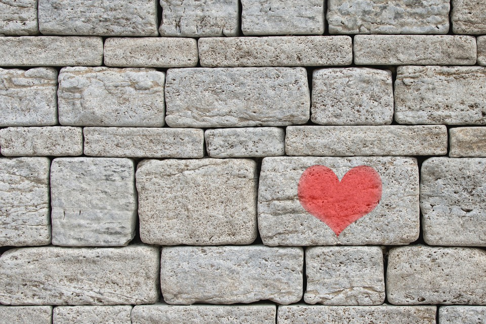 painted stone wallFree photo Love Background Painted Stones Grey Heart Wall  Max Pixel