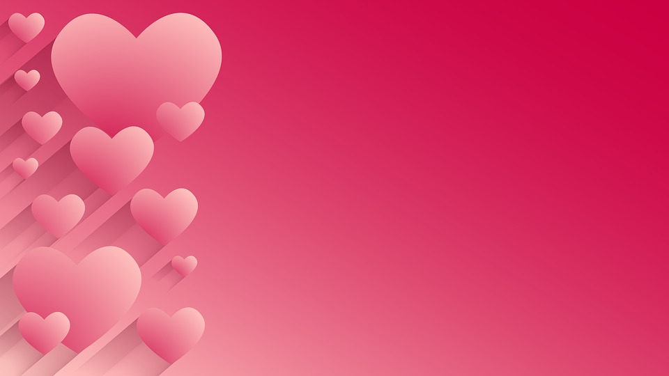 Free photo Love Heart Frame Heart Background Wallpaper - Max Pixel
