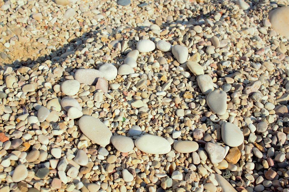 Heart, Stone, Sea, Summer, Beach, Wave, Drawing, Love