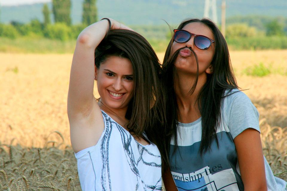 Girls, Friendship, Love, Beauty, Smile
