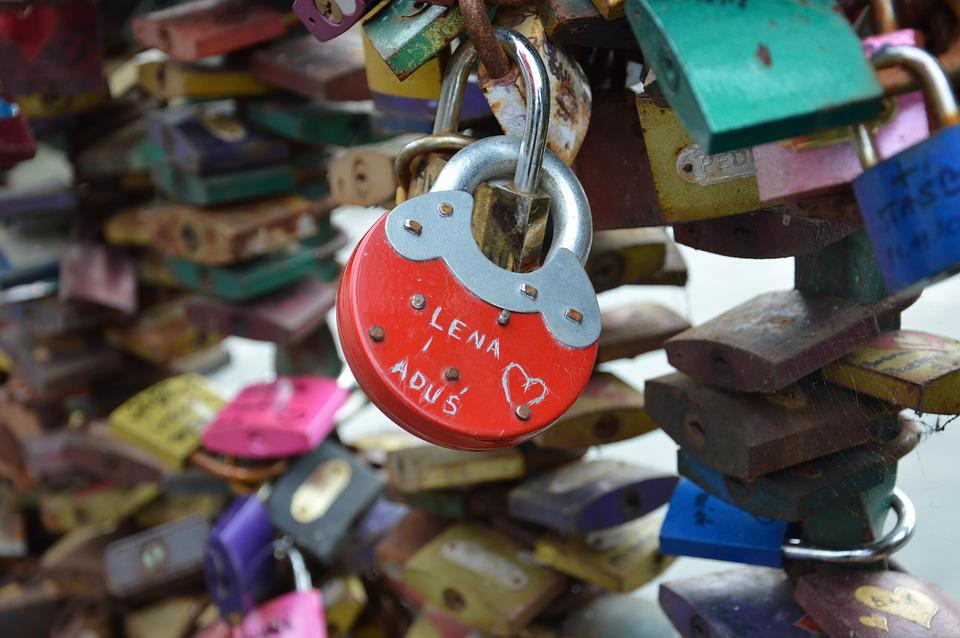 Padlocks, Love, Bridge, Romantic, Locks Bars, Eternal