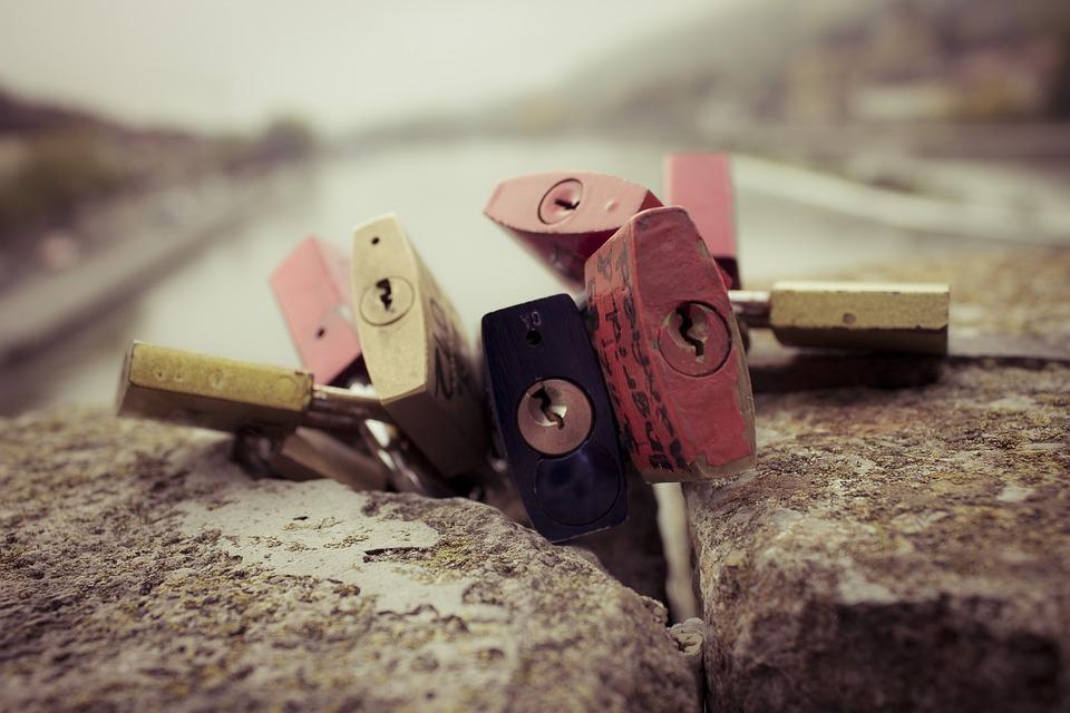 Padlock, Padlocks, Love Castle, Love Locks