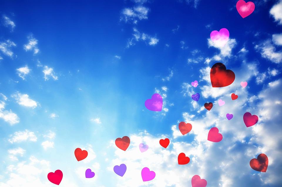 Heart, Symbol, Love, Decoration, Blue Skies