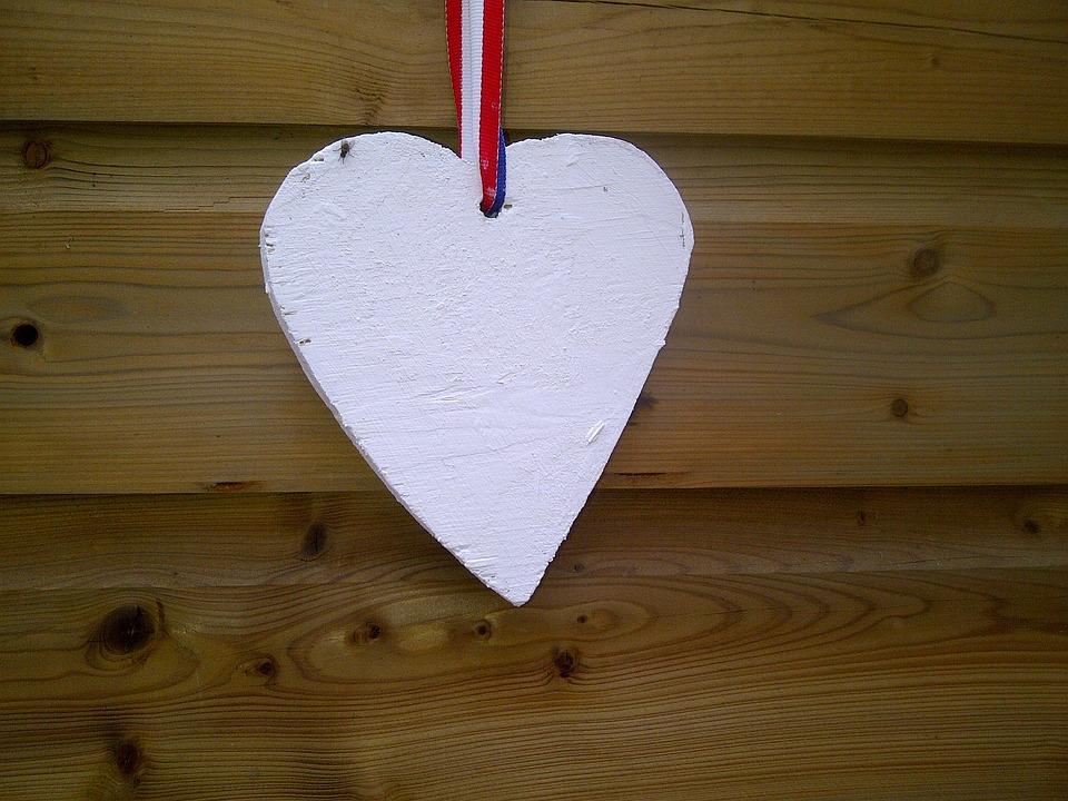 Wooden Heart, Heart, Love, Creative, Decoration