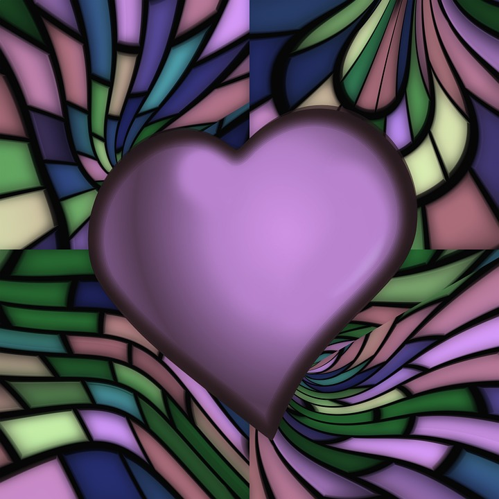 Heart, Love, Valentine's Day, Greeting Card, Lines