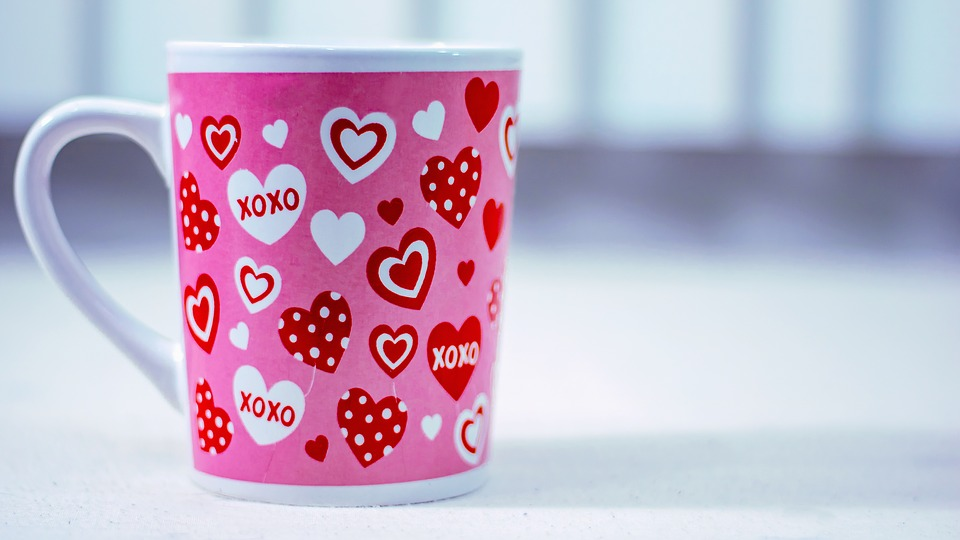 Cup, Love, Valentine, Coffee, Heart, Drink, Morning