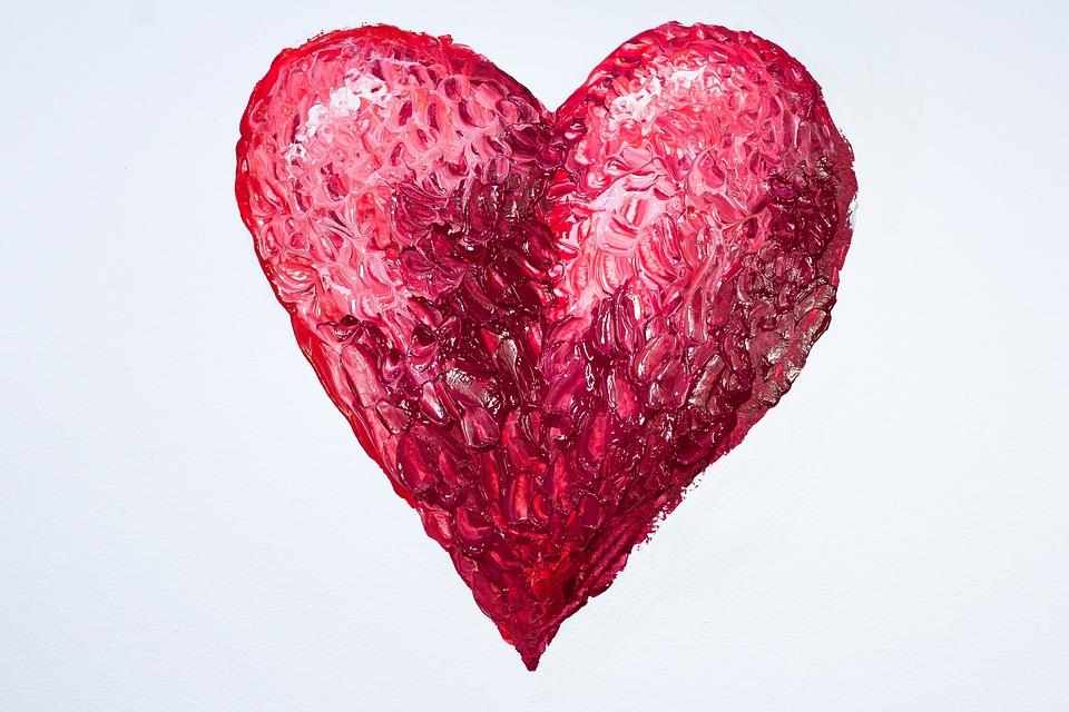 The Calendar Sheet, February, Heart, Valentine, Love