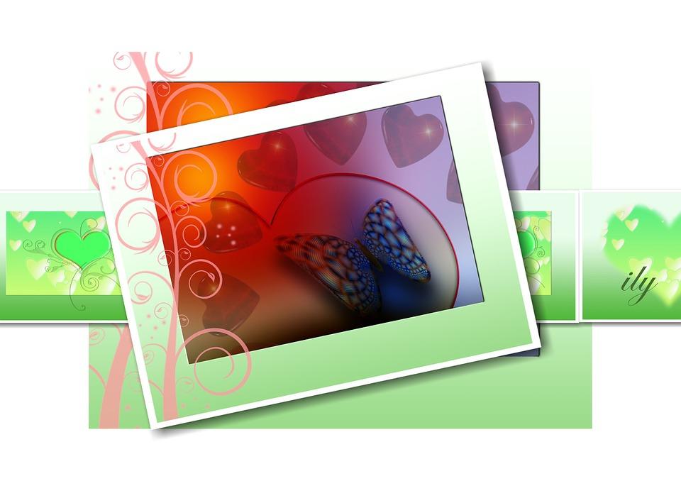 Heart, Love, Luck, Greeting, Greeting Card, Postcard