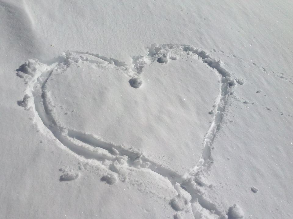 Snow, Heart, Love