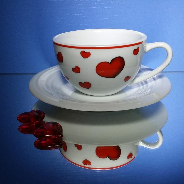 Valentine's Day, Cup, Heart, Coffee Cup, Love