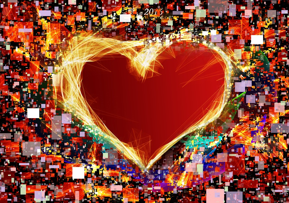 Heart, Love, Colorful, Diversity, Rip, List, Background
