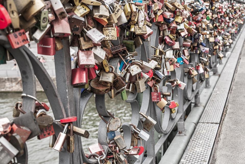 Padlock, Loyalty, Love Locks, Love Castles, Love Symbol