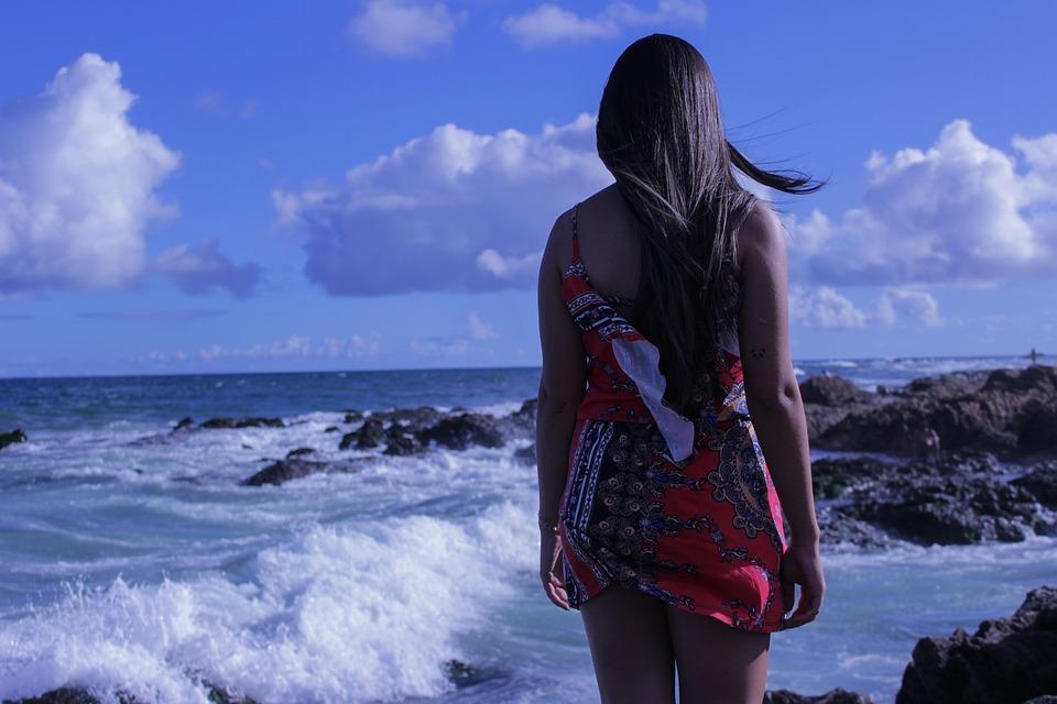 Girl, Beach, Love, Woman, Landscape, Model, Look