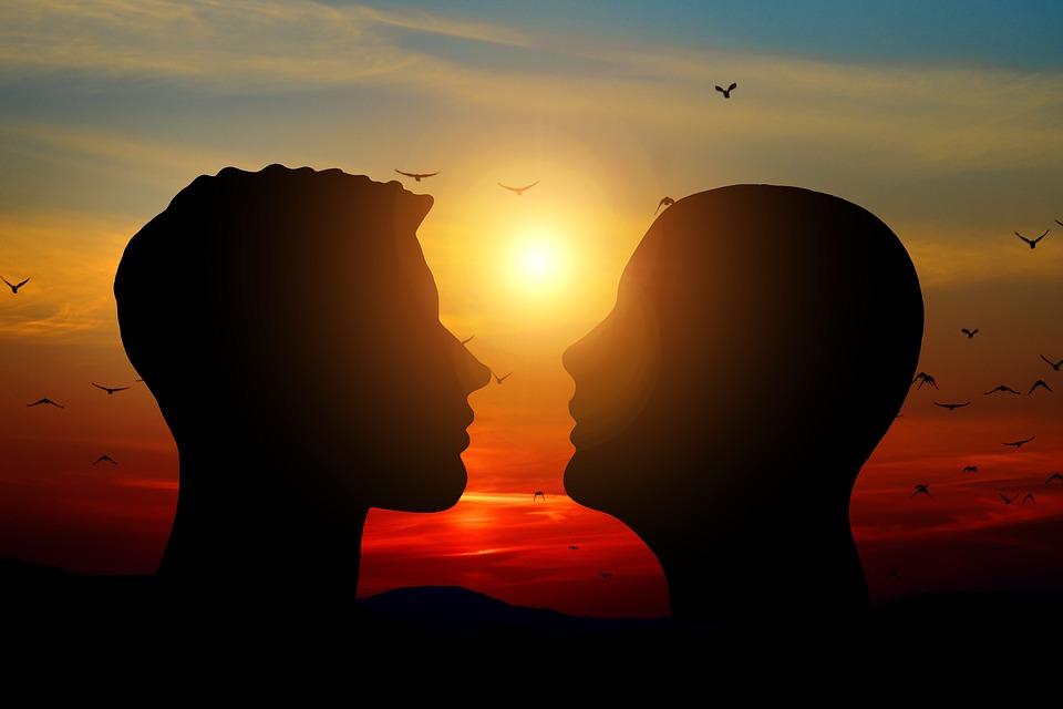 Man, Love, Romance, Sunset, Sun, Mood, Atmosphere