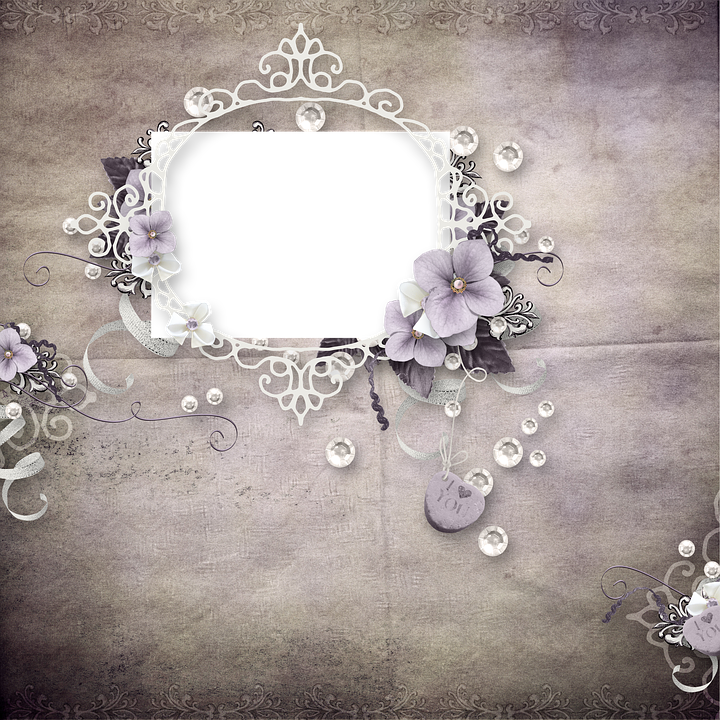 Frame, Photoshop, Photo Frame, Page, Scrapbooking, Love