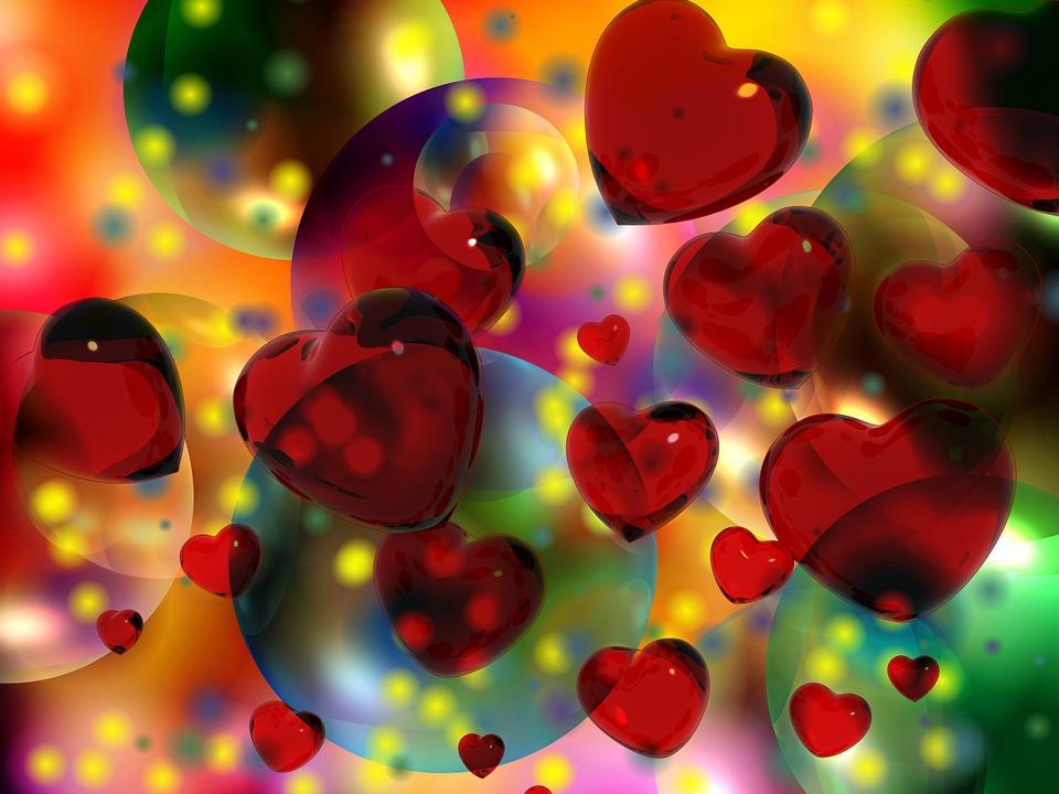 Heart, Luck, Love, Red