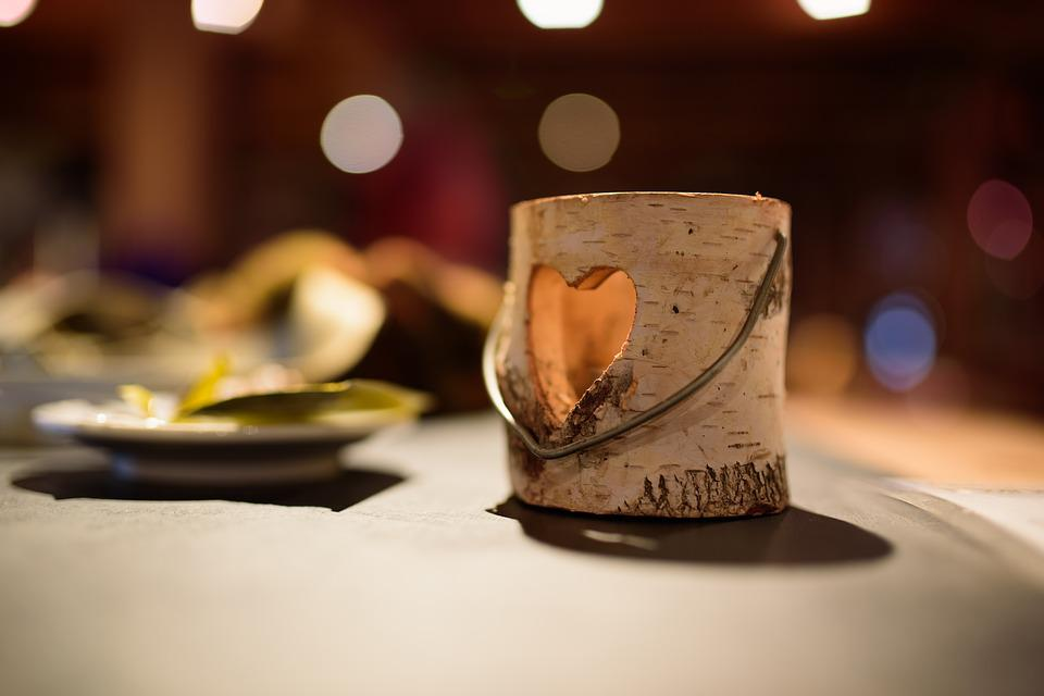 Blur, Bokeh, Heart, Love, Restaurant
