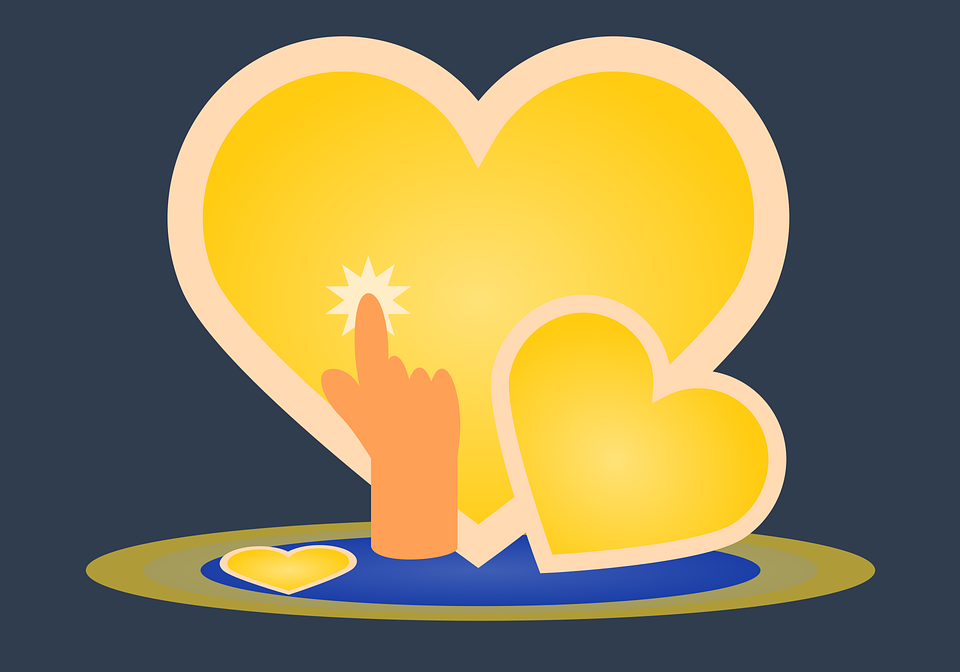 Heart, Love, Symbol, Romance, Card, Background