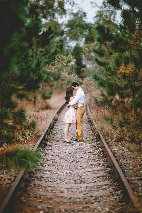Love, Couple In Love, Grooms, Romantic, Landscape