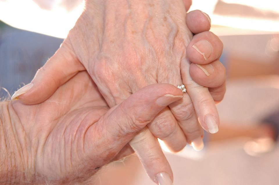 Grandparents, Hands, Senior, Family, Love, Grandmother