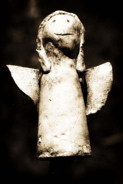 Symbol, Angel, Old, Fig, Sculpture, Love, Angel Figure