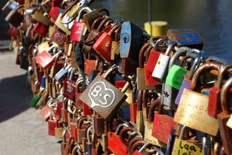 Love, Love Locks, Love Symbol, Padlocks, Romantic