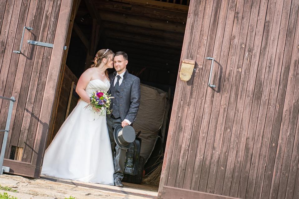Wedding, Bride And Groom, Love, Marry, Marriage