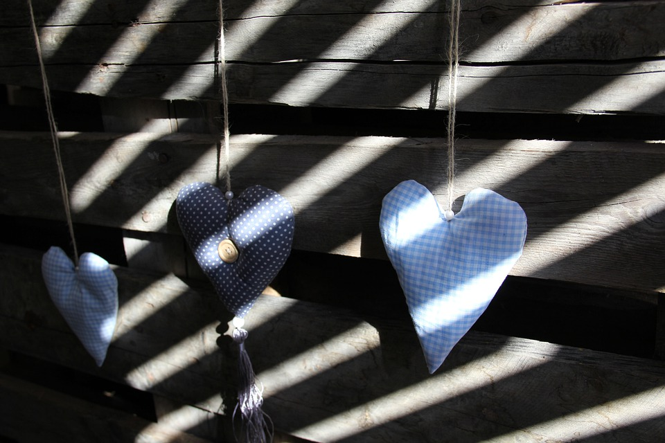 Heart, Wooden Wall, Shadow Play, Love, Light, Shadow