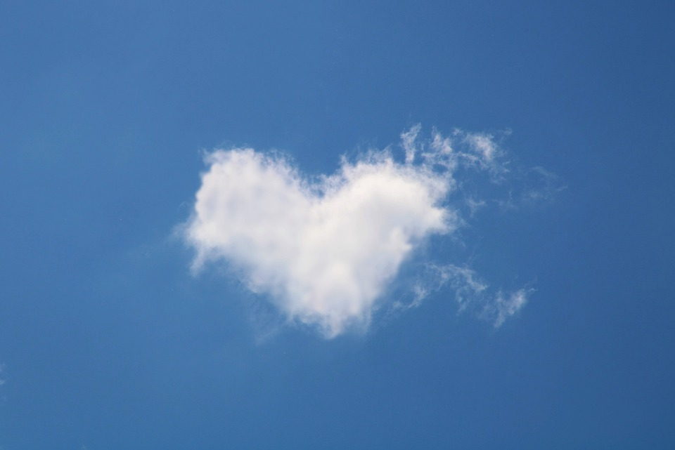 Cloud, Heart, Love, Romance, Romantic, Dream, Lovers