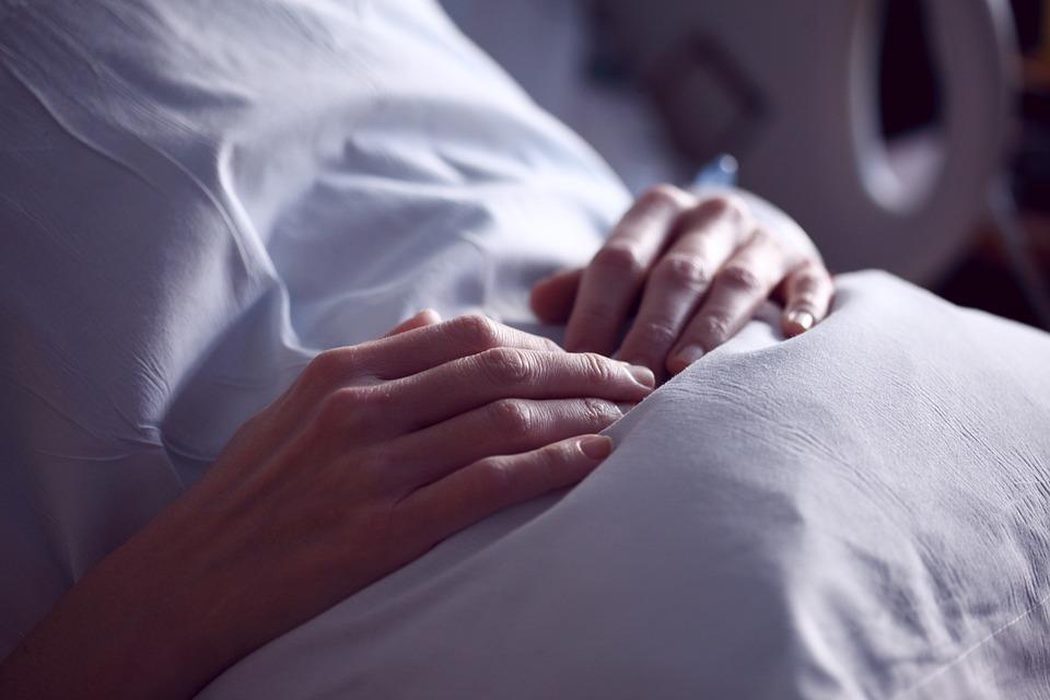 Healing, Patient, Holding, Pillow, Soft, Low Light