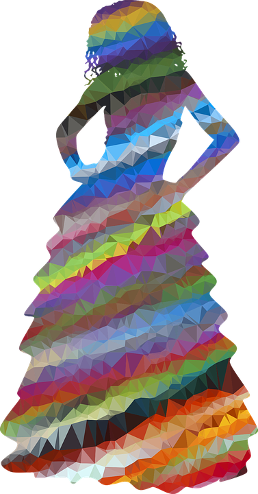 Colorful, Prismatic, Chromatic, Rainbow, Low Poly