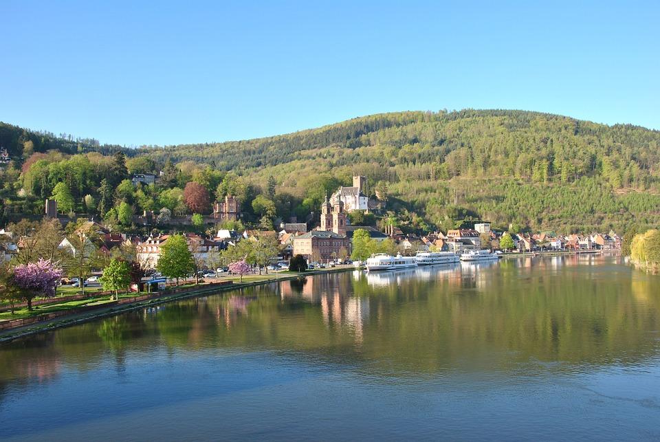 Miltenberg, Main, Odenwald, Bavaria, Lower Franconia