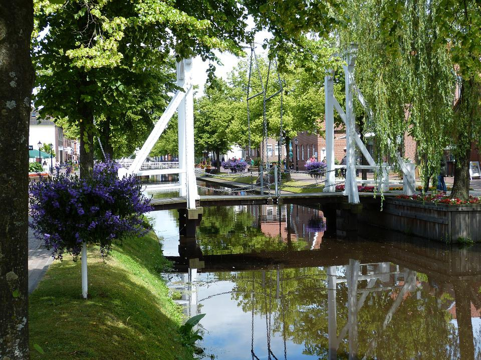 Papenburg Germany, Lower Saxony, Emsland, Channel