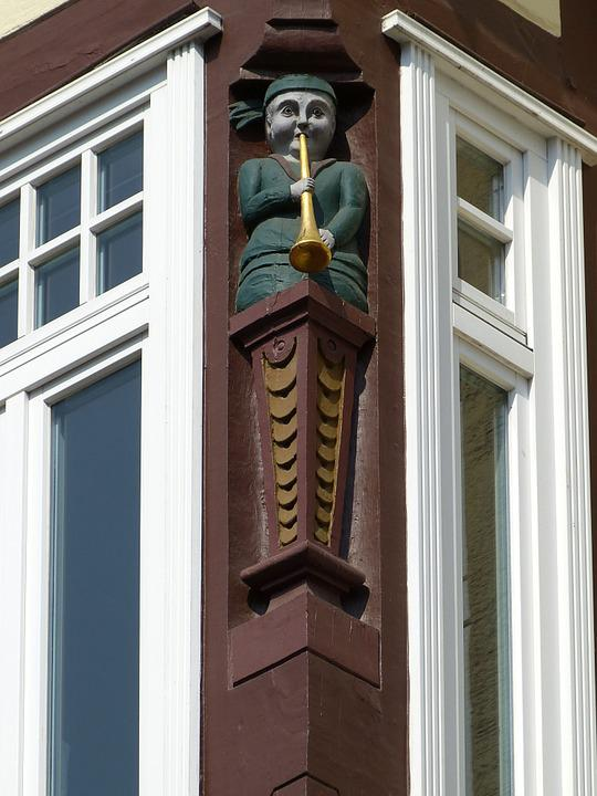 Celle, Lower Saxony, Old Town, Truss, Facade