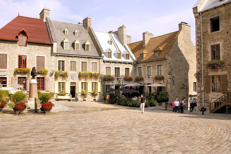 Canada, Quebec, Lower Town, Place, Old Town
