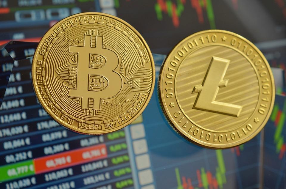 Litecoin, Bitcoin, Cryptocurrency, Coins, Btc, Ltc