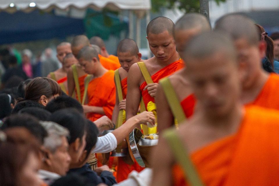 Luang Prabang, Lao, Luang, Prabang, Asia, Travel