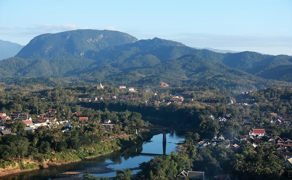 Laos, Luang Prabang, The Scenery, The Nam Khan River
