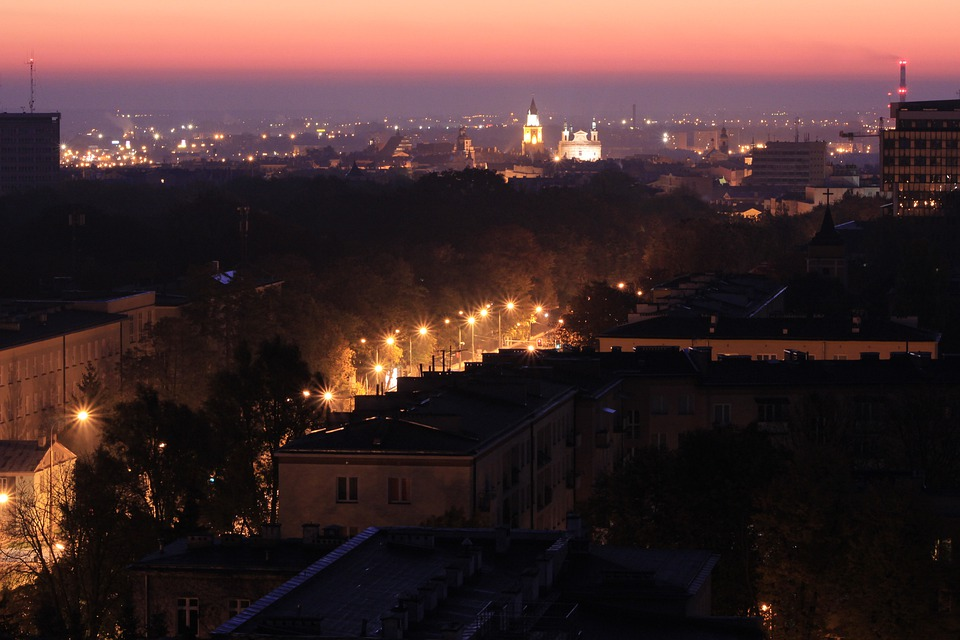Lublin, Panorama, City, East, Lubelskie, Poland
