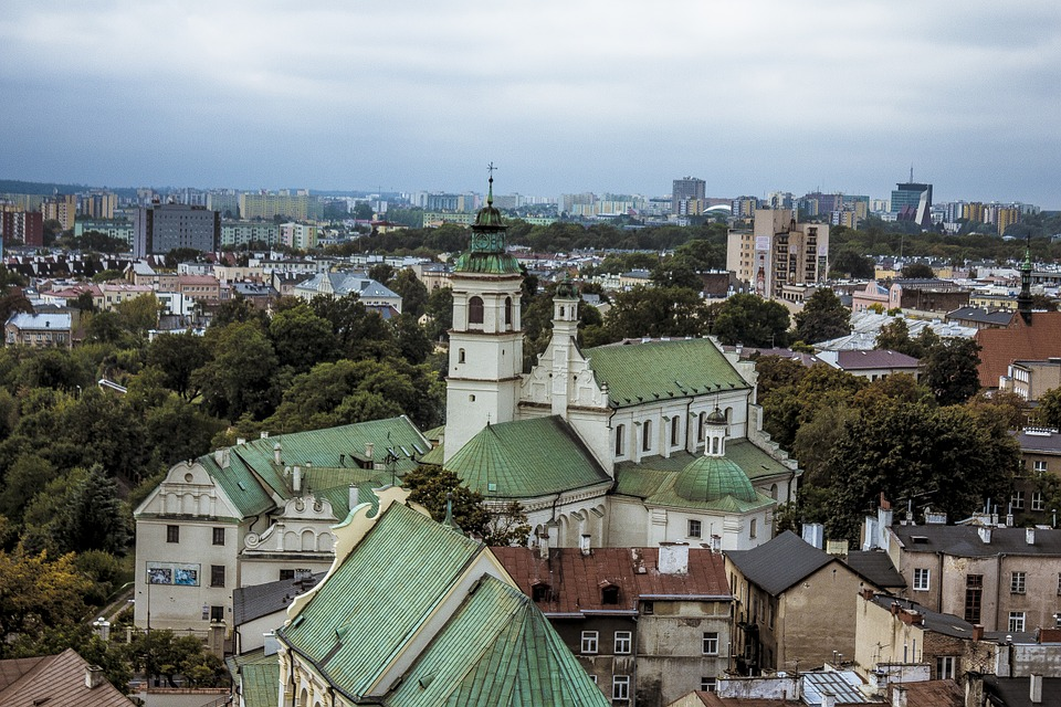 Church, Lublin, View, Poland, Christianity, Catholicism