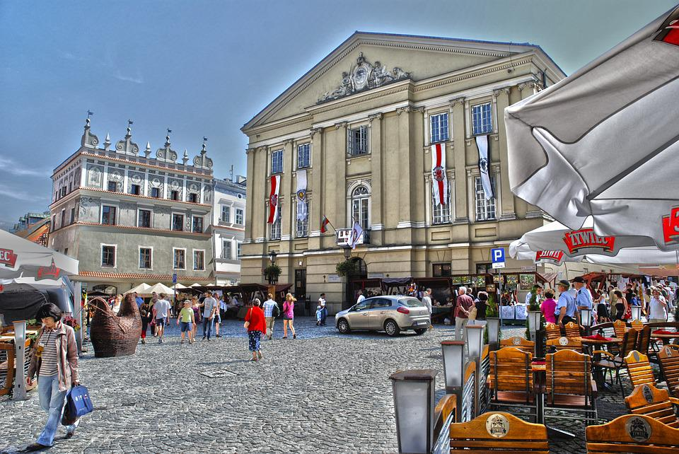 Lublin, City, Historical Centre, Walls, Old Town
