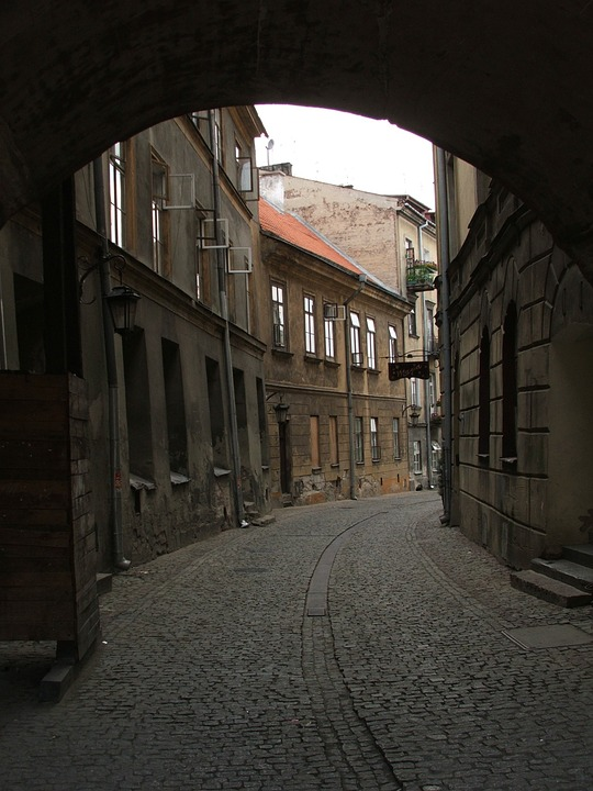 Lublin, The Old Town, Kamienica, Street, Monument