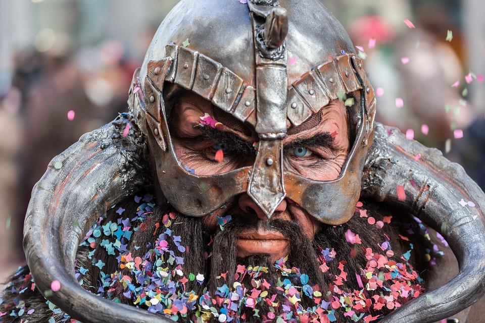 Carnival, Mask, Costume, Panel, Lucerne, 2015
