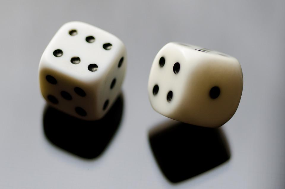 Dice, Reflection, Six, Eyes, Rolling, Luck, Business