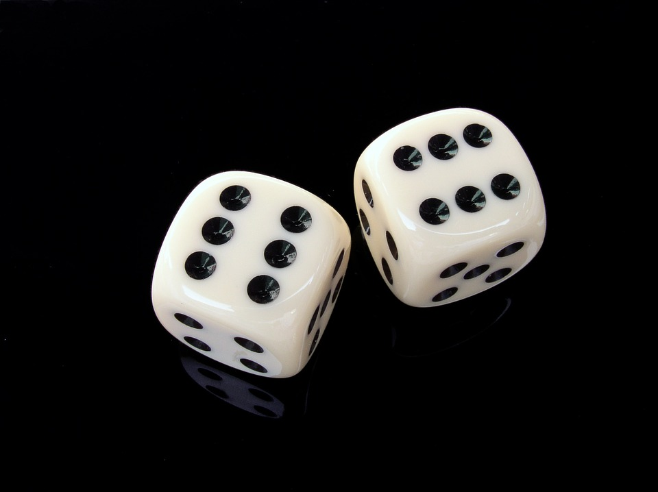 Cube, Six, Gambling, Play, Lucky Dice