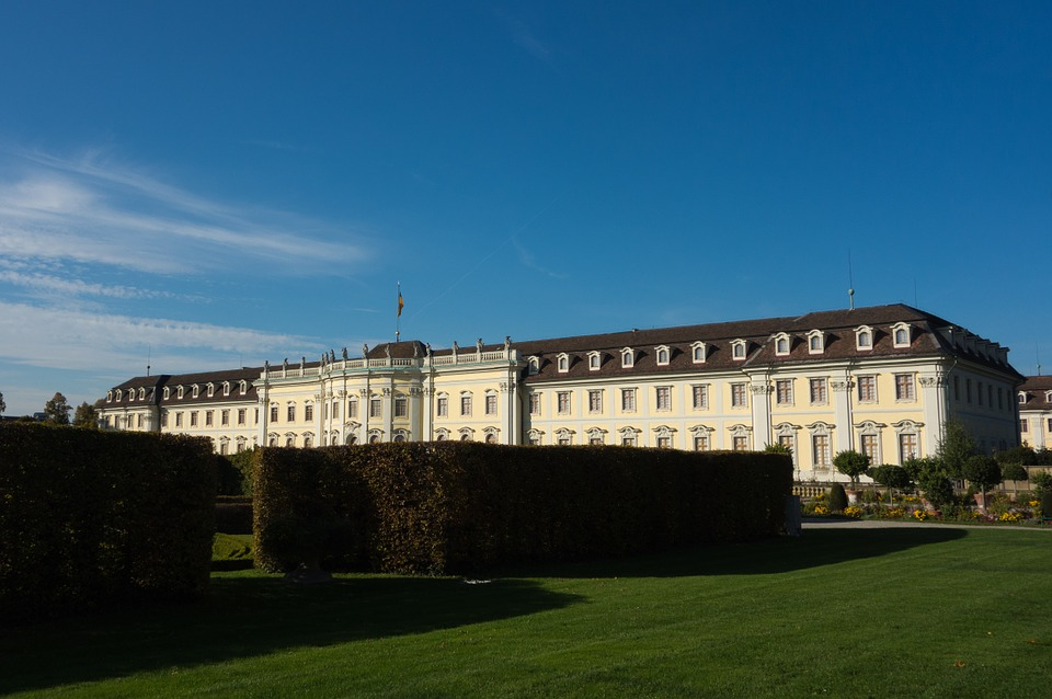Ludwigsburg Germany, Castle, Park, Architecture