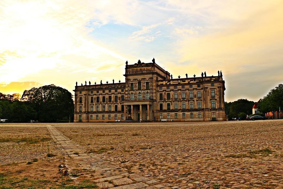 Castle, Ludwigslust-parchim, Barockschloss
