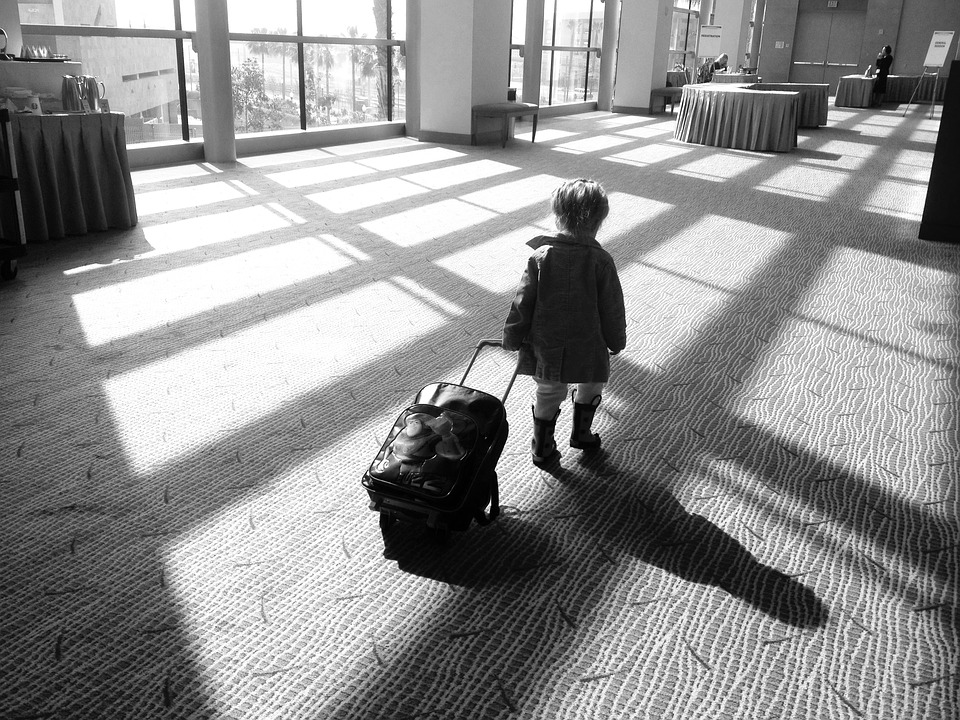 Girl, Suitcase, Travel, Luggage, Female, Journey, Young