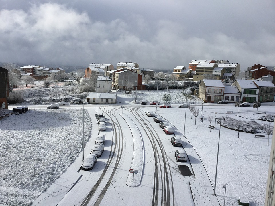 Snow, Lugo, Nevada